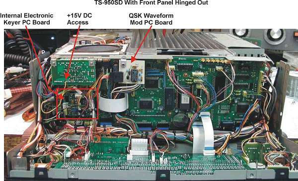 Kenwood TS-950S (TS 950 S TS950S) mods reviews software and diagrams