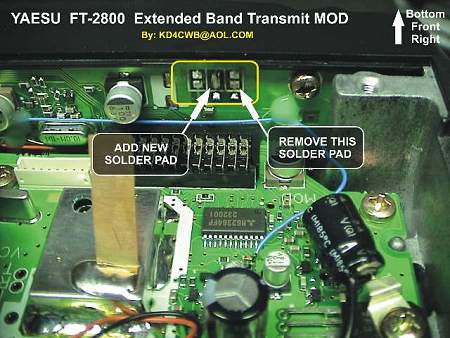 ft 2800_tx yaesu ft 2800m (ft 2800 m ft2800m) transceivers extended tx mod  at n-0.co