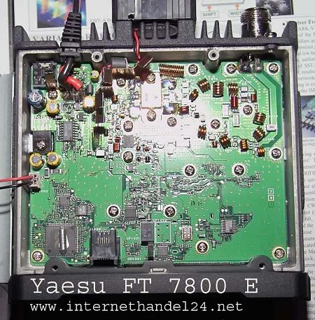 yaesu ft 7800r ft 7800 r ft7800r user and service manual rh hampedia net Yaesu FT-8500 Dimensions yaesu ft-8500 service manual